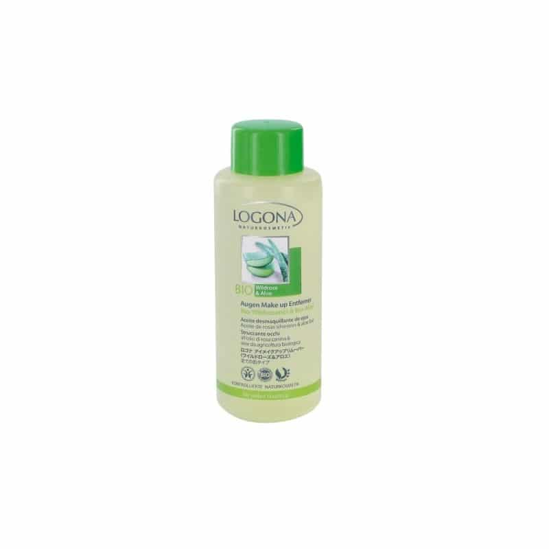 Aceite Desmaquillante de Ojos Rosas silvestres y Aloe Bio 100 ml.