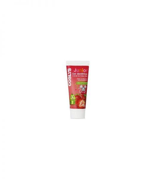 Gel Dentífrico para Niños Fresa Orgánica 50 ml