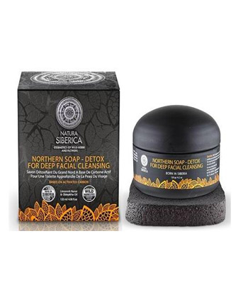Jabón Negro nórdico Detox de Natura Sibérica 120g
