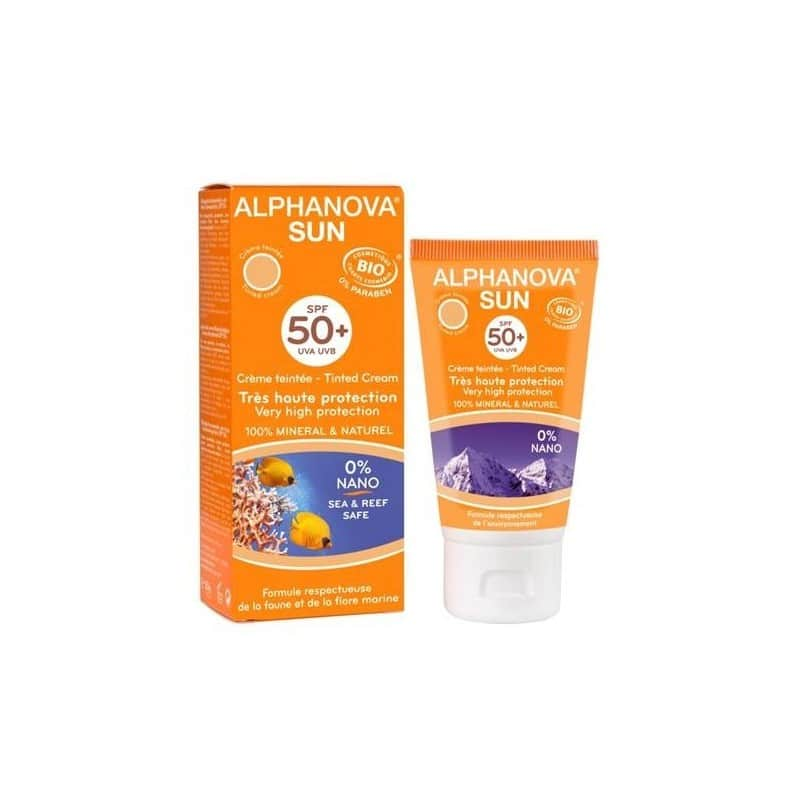 Protector Solar 50+ con Color 50 ml