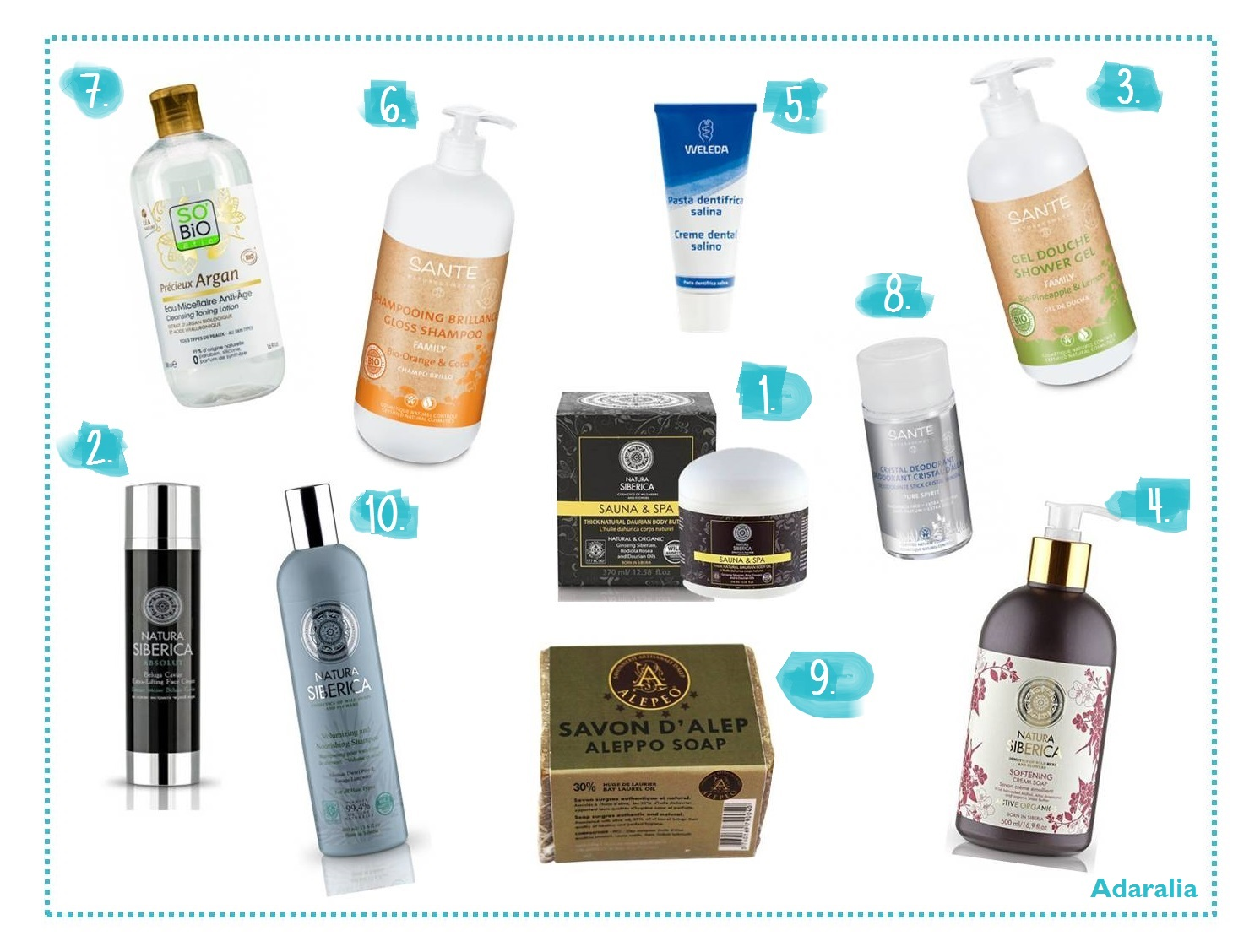 TOP 10 productos_Adaralia
