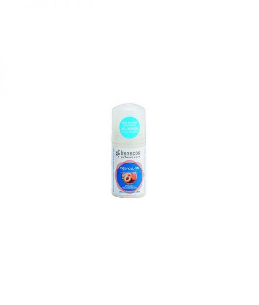 Desodorante Benecos Roll-On Albaricoque y Sauco