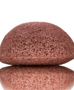 Esponja Konjak con Arcilla Roja piel seca-sensible