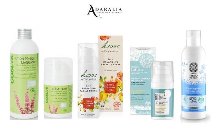 productos de limpieza de piel grasa