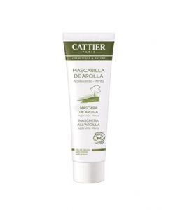 Mascarilla de Arcilla Verde para piel Grasa de Cattier 100 ml