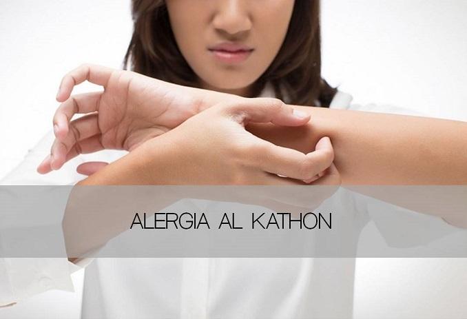 alergia al kathon