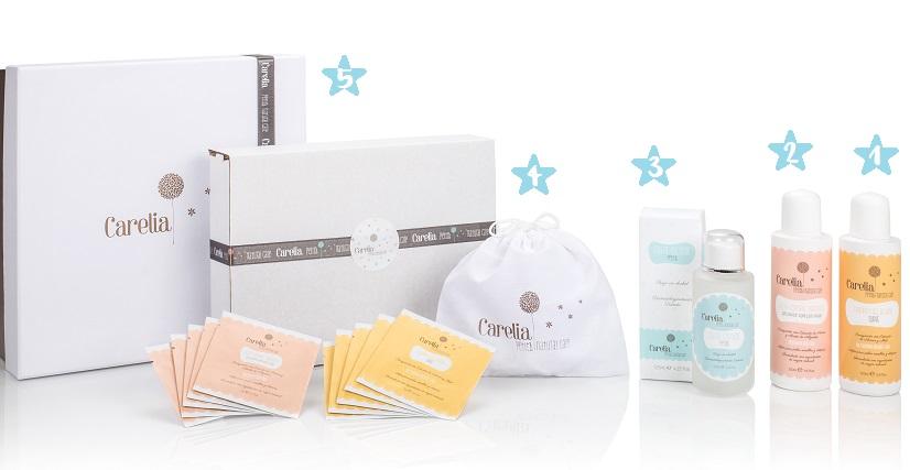 Carelia cosmética natural para bebés y niños