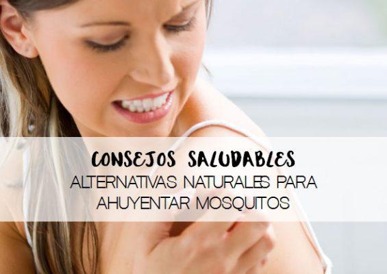 Consejos saludables alternativas naturales para ahuyentar mosquitos
