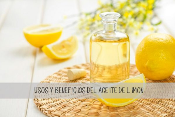 Beneficios de usar el aceite de limón