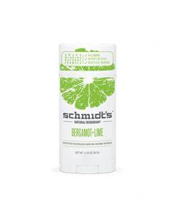 Desodorante Schmidt de Bergamota y Lima Stick de 92g