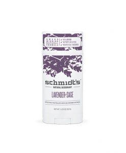 Desodorante Schmidt de Lavanda y Salvia Stick de 92g