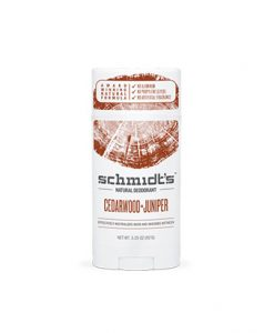 Desodorante Schmidt de Enebro y Cedro Stick de 92g