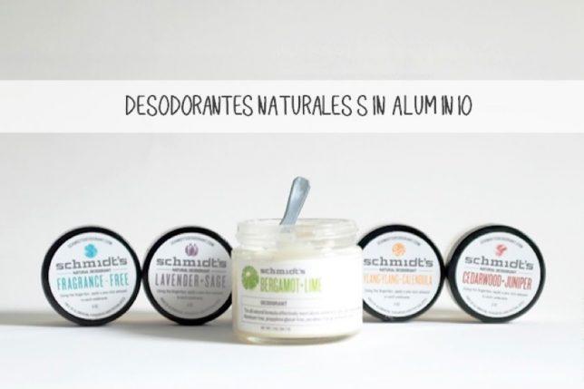 Desodorantes Sin Aluminio