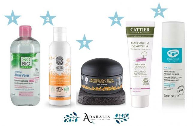 Cosmeticos Naturales más vendidos en 2016