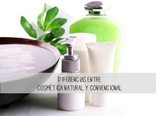 Diferencias entre la cosmética natural y convencional