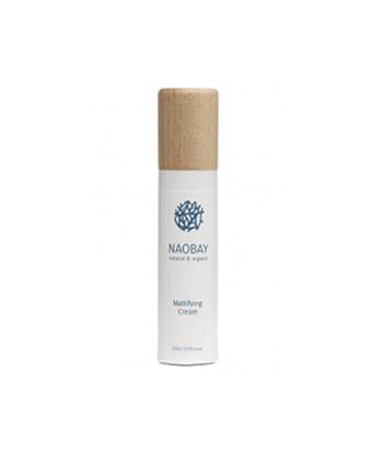 Crema Facial Matificante para Piel grasa de Naobay de 50 ml