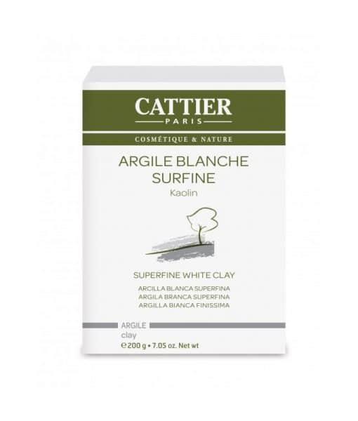 Arcilla Blanca Superfina Cattier 200 g.