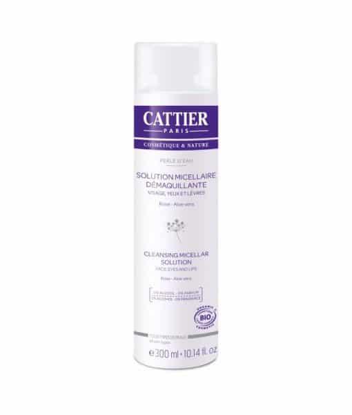 Solución Micelar Desmaquillante Cattier 300 ml.