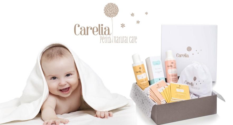 Cosméticos para Bebés de la Marca Carelia