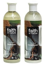 Faith-In-Nature-Coco-champ-400-mlFaith-In-Nature-coco-Acondicionador-400-ml-SPER-AHORRO-PAQUETE-Orgnico-champ-orgnico-acondicionador-Contiene-Vitamina-E-y-orgnico-coco-ticamente-0