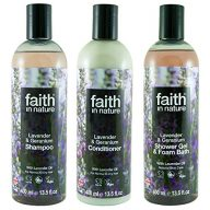Faith-in-Nature-Lavender-Geranium-Shampoo-conidtioner-Shower-Gel-Trio-0
